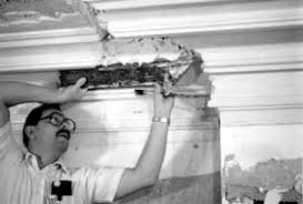 How To Fit Cornice To Ceiling Preservation Brief 23 Preserving Historic Ornamental Plaster