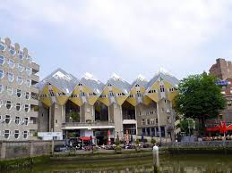 cube and quirky houses of rotterdam
