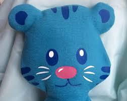 daniel tiger plush toys tiger stuffed animal etsy
