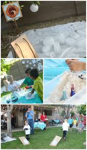 Fall Backyard Party Ideas by Home Decor Frozen Party Activities Jpg