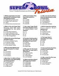 printable organization quiz for students trendy idea super bowl party game ideas trivia facts printable wedding