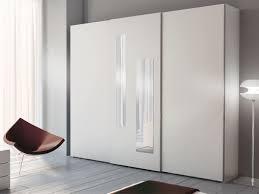 Schlafzimmerschrank Einbau Kleiderschrank Mit 2 Vertikalen Spiegeln Auf Zentrale Tür Idfdesign