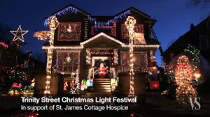 Christmas Lights Festival by Video Trinity Street Christmas Lights Festival