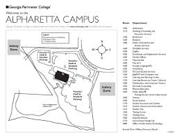 Mesa College Map Georgia Perimeter College Clarkston Campus Map Georgia Map
