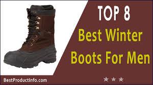 best winter boots for men top 8 best mens winter boots for 2017