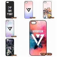 kpop seventeen logo wallpaper cell phone case cover shell for