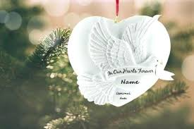 memorial tree ornaments personalised ornaments