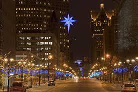 Milwaukee Lights Milwaukeestock Com December 2008