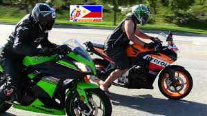 cbr latest bike kawasaki ninja 300 versus honda cbr 250r drag race youtube