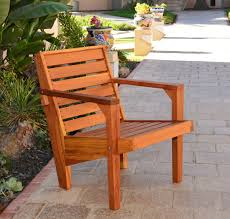 Outdoor Wood Furniture Modern Outdoor Wood Chair Stylish Wooden Garden Chair