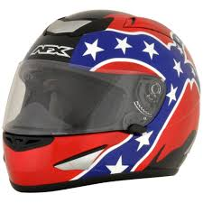 afx motocross helmet afx fx 95 rebel flag mens motorcycle helmets