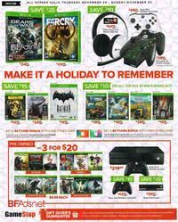 black friday 2016 ad scans gamestop black friday 2016 ad scan