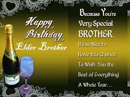Happy Birthday Wishes To Big 40 Awesome Birthday Greetings For Elder Brother Best Birthday