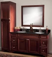 Cherry Espresso Cabinets Pantry Cabinet Cherry Pantry Cabinet With Cherry Finished Wooden