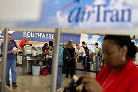 southwest airlines will cut 300 airtran jobs at the atlanta