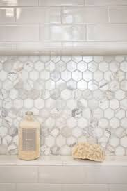 Tile For Shower by Best 10 Hexagon Tile Bathroom Ideas On Pinterest Shower White