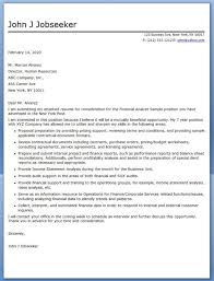 financial analyst cover letters 28 images senior financial