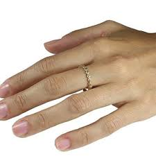 thin gold wedding band gold flower band thin gold wedding band delicate band