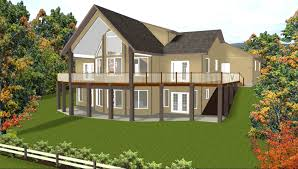 Home Plans For Sloping Lots Sloped Lot Home Plans With Walk Out Basement Corglife