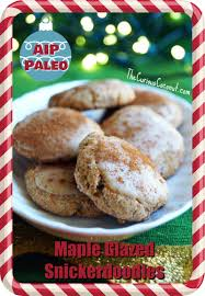 maple glazed snickerdoodles holiday cookies made with otto u0027s