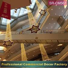 Commercial Christmas Decorations To Buy by Custom Commercial Christmas Decoration Hanging From Shopping Mall
