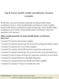 Top 8 Medical Billing Coordinator Resume Samples by Amazing Home Care Coordinator Resume Photos Simple Resume Office