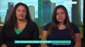 lucy and anna decinque before woman who woke up with a british accent appears on this morning