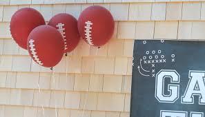 backyard football birthday party