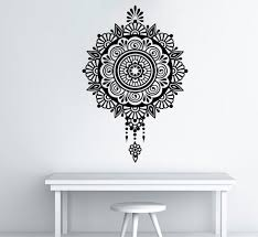 aliexpress com buy high quality mandala buddha om wall sticker aliexpress com buy high quality mandala buddha om wall sticker home decoration wall decal 57x82cm vinyl mural for room art decor bedroom decory 367 from