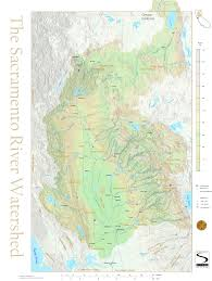 Map Of Sacramento Watershed Information Caring For Our Watersheds