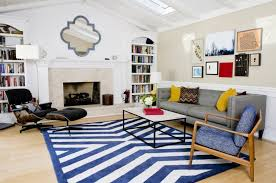 Blue Striped Area Rugs Blue And White Striped Area Rug Lines Borders Interior Large Floor