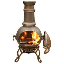patio heaters bunnings furniture black cast iron chiminea with three legs for patio