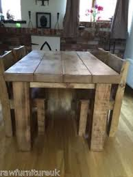 Chunky Rustic Dining Table Chunky Dining Table F34 In Modern Home Decoration Plan With Chunky