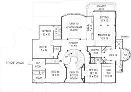Sample Floor Plan For House Vinius 8079 5 Bedrooms And 4 Baths The House Designers