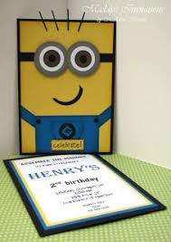 diy minion invitations minions party ideas invitation inspirational braesd