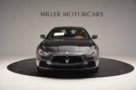 maserati ghibli sport package 2017 maserati ghibli s q4 stock w374 for sale near greenwich ct