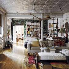 unique house with bohemian decor room furniture ideas