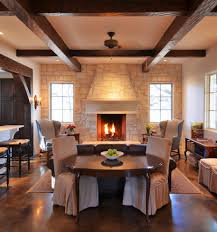 natural stone fireplaces spaces asian with asain bamboo chinese