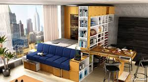 platform bed small studio apartment ideas youtube