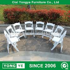wedding chairs wholesale china resin folding wedding chairs wholesale alibaba