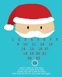 25 handmade christmas ideas calendar printable santa christmas