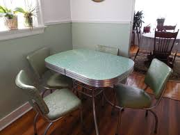 50 s kitchen table and chairs 50 s dining table simple 2 tone oval tables and chairs 50 s style