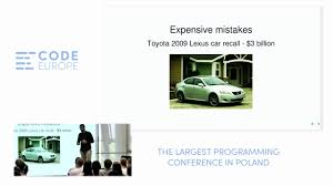 toyota lexus recall 2009 the art of quality maintenance lecture by maciej mensfeld code