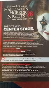 halloween horror night discounts