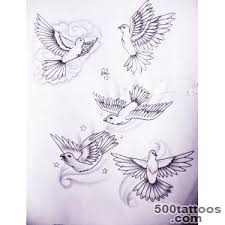 dove tattoo designs ideas meanings images