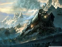 travel wallpaper images Train travel fantasy 4k hd desktop wallpaper for wide ultra jpg