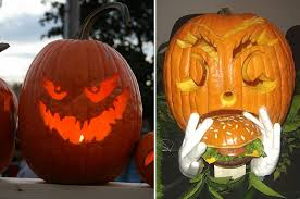 Best Halloween Pumpkin Carvings - monday u0027s odd item in the den 100 halloween pumpkin carving ideas