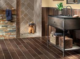 atlanta floor and decor exotica walnut wood porcelain tile transitional bathroom