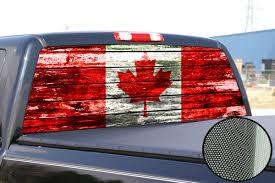 Car Window Flags Canada Canadian Flag Window Tint Decal Graphic Car Truck F150 Ram