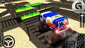 monster truck video game monster truck freestyle parker simulation game by game bunkers